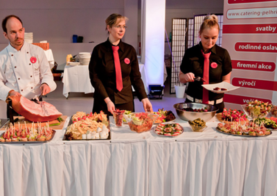 catering - obsluha
