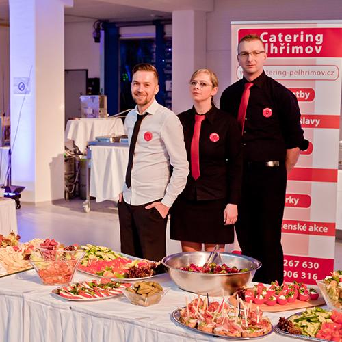 Catering Pelhřimov - obsluha